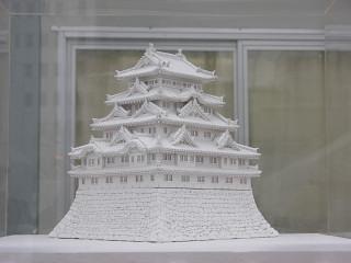 大雪像「名古屋城」の模型