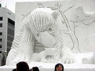 大雪像「地球からのおくりもの」