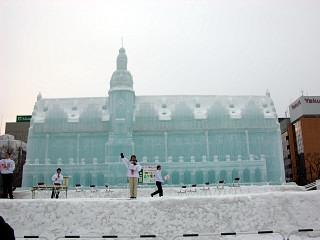 大氷像「ライプチヒ旧市庁舎」